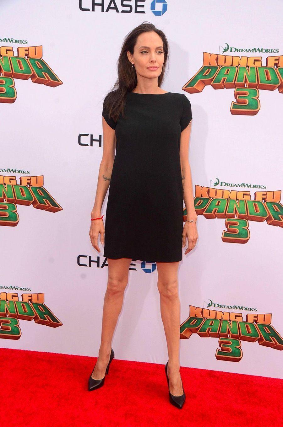 Angelina Jolie en janvier 2016