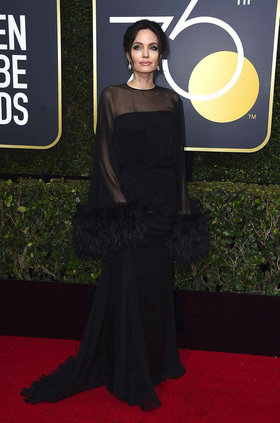 Angelina Jolie en janvier 2018