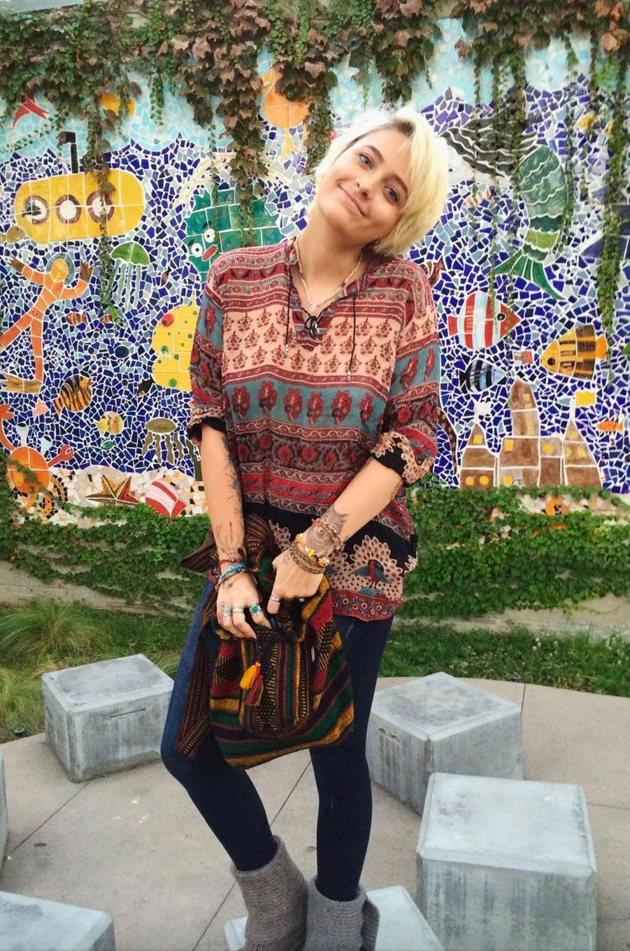 People Style : le boho chic selon Paris Jackson