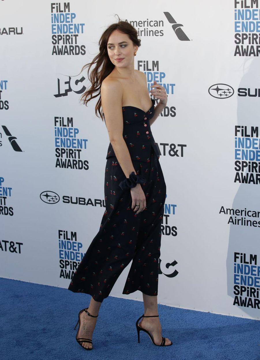 Dakota Johnson à Los Angeles, le 23 février 2019