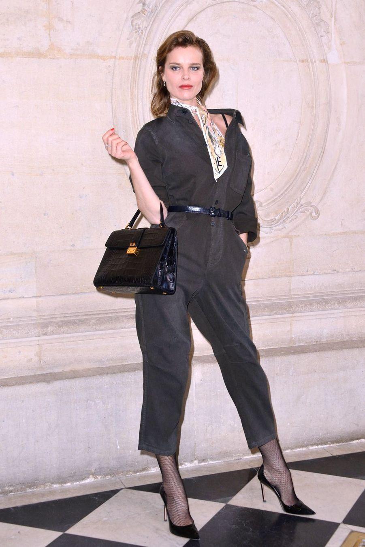 Eva Herzigova à Paris, le 26 février 2019