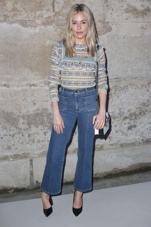 Sienna Miller à Paris, France, le 5 mars 2018