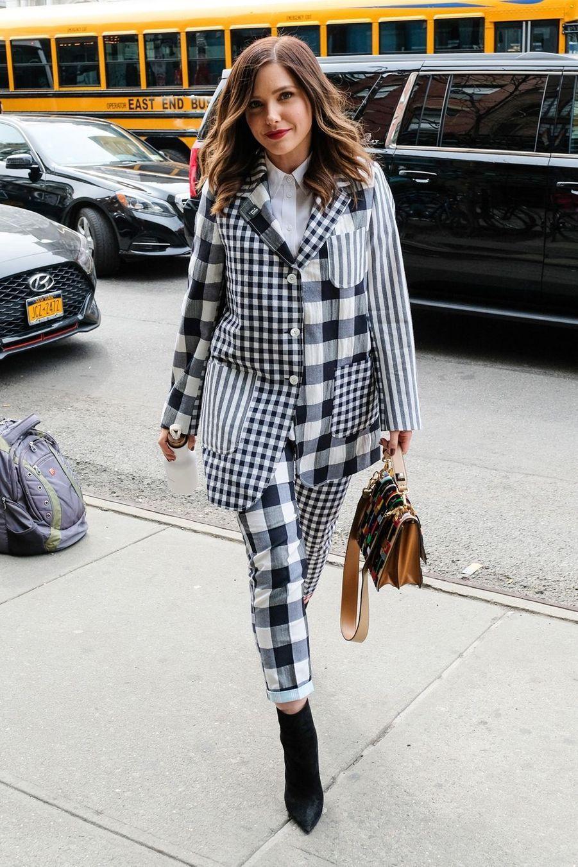 Sophia Bush à New York, le 12 avril 2019
