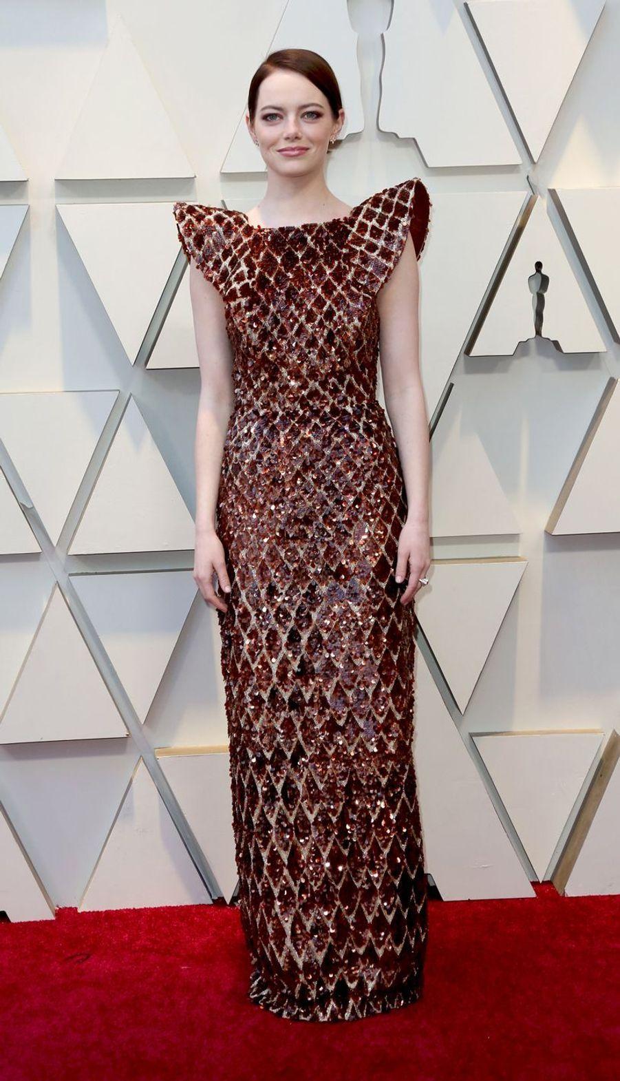 Emma Stone à Los Angeles, le 24 février 2019
