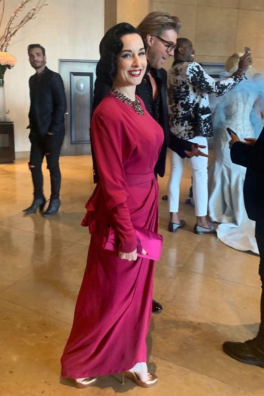 Dita Von Teese à Los Angeles, le 29 mars 2019