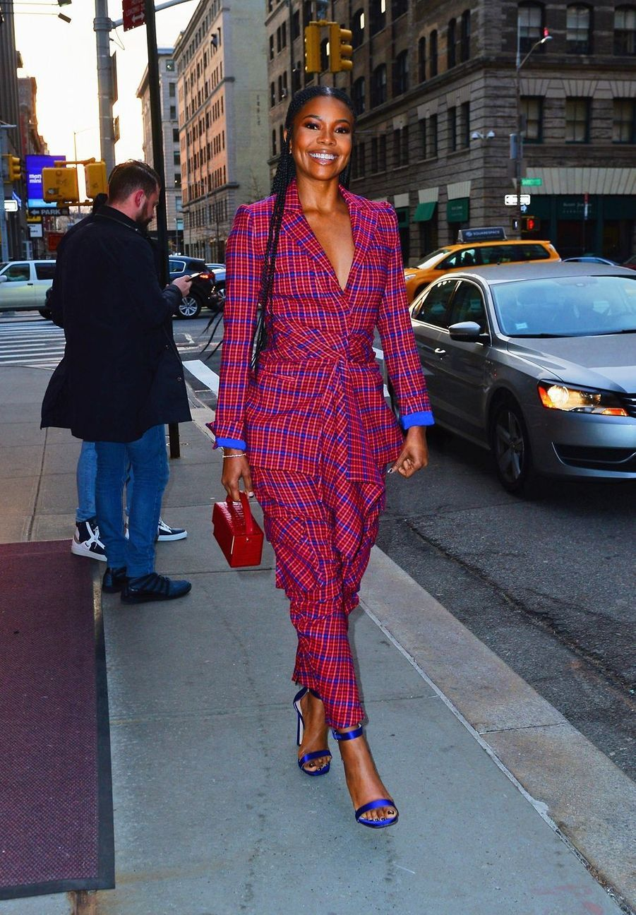 Gabrielle Union à New York, le 30 mars 2019
