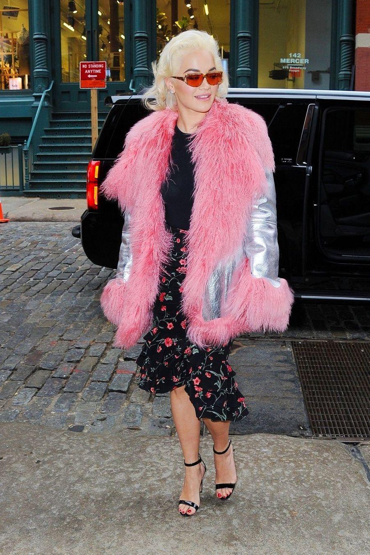 Rita Ora à New York, le 25 mars 2019
