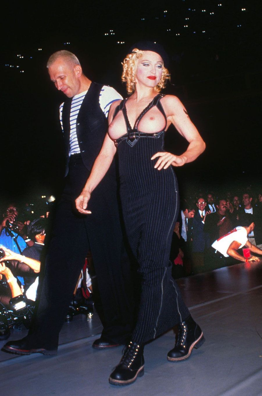 Madonna et Jean Paul Gaultier en 1992