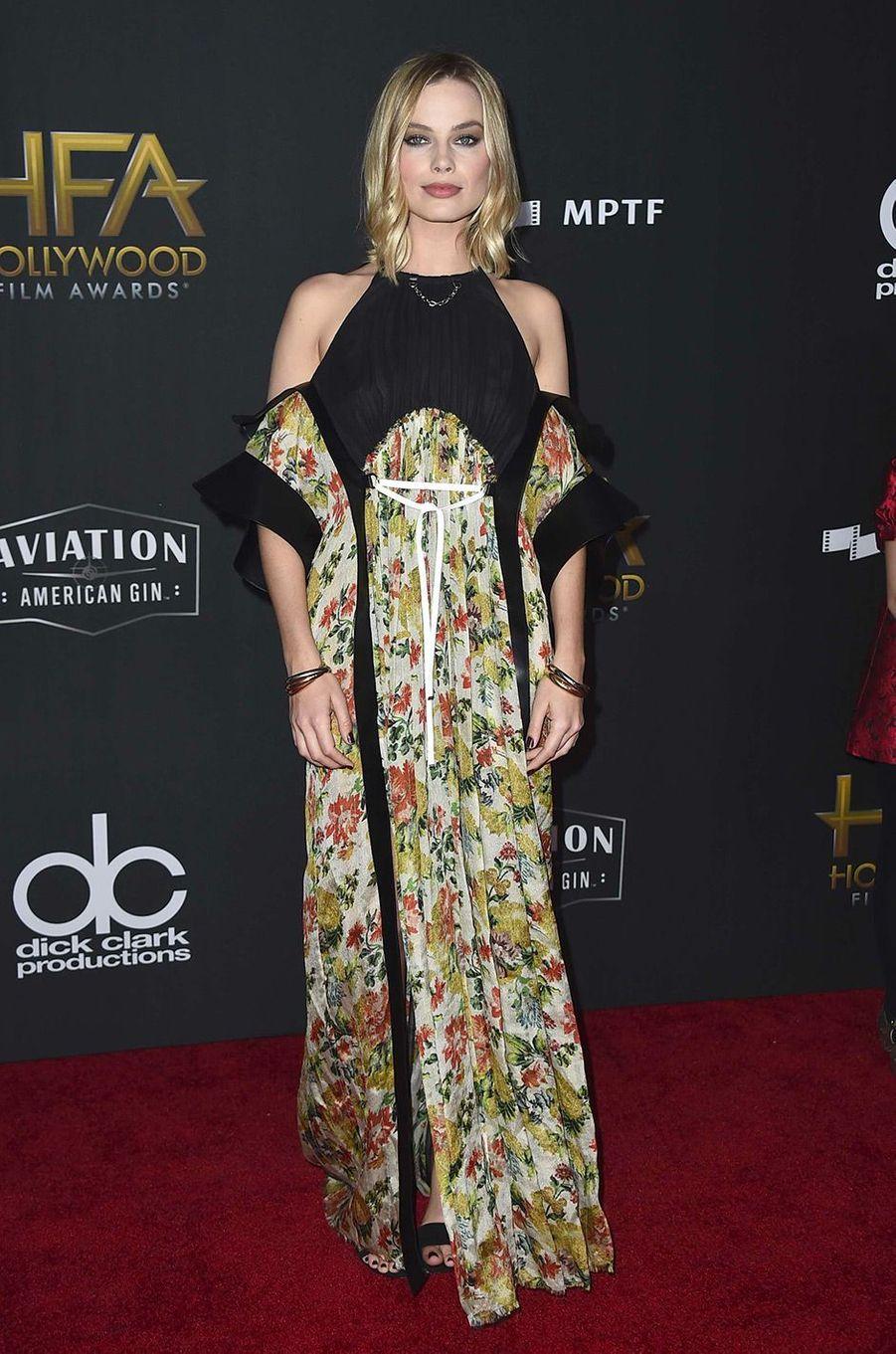 Margot Robbie à Beverly Hills le 5 novembre 2017
