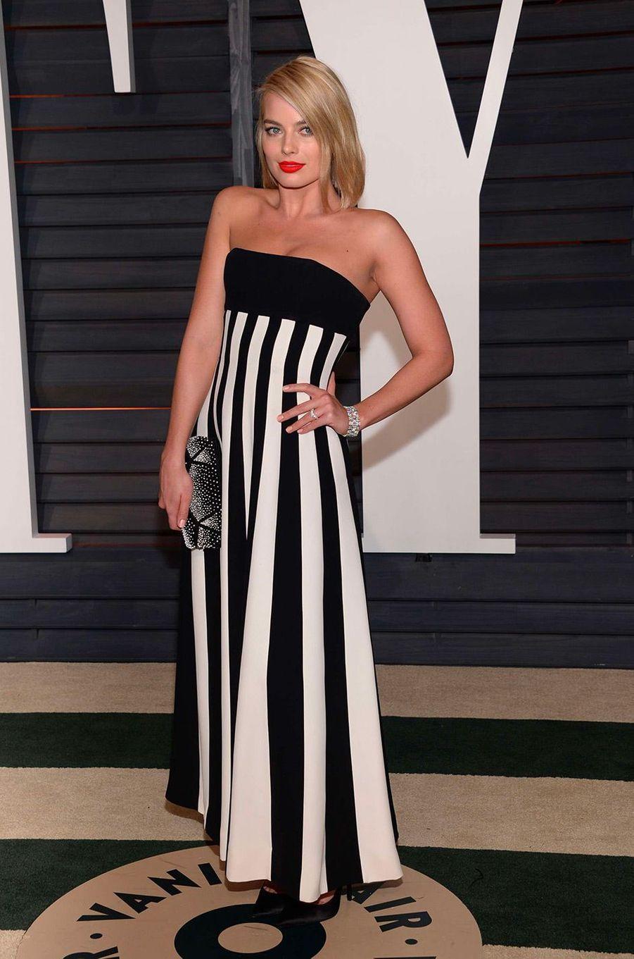 Margot Robbie à Beverly Hills le 22 février 2015