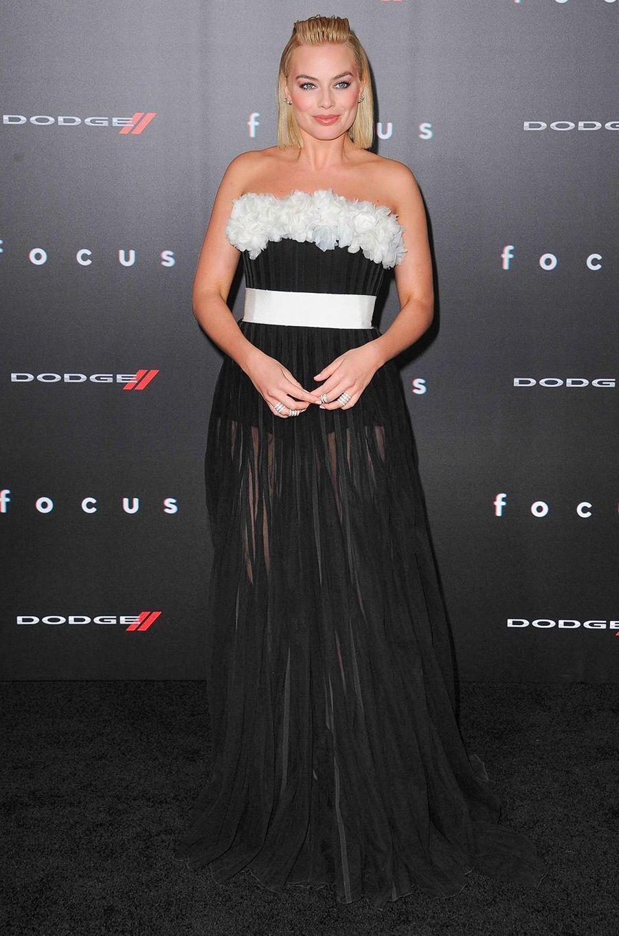 Margot Robbie à Hollywood le 25 février 2015