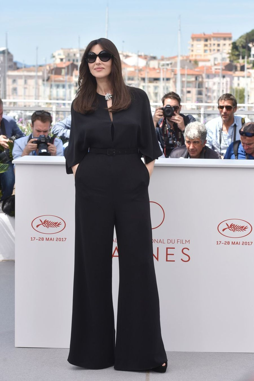 Monica Bellucci lors du 70e Festival International du Film de Cannes, le 17 mai 2017
