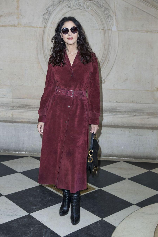 Monica Bellucci au défilé Christian Dior à Paris, le 21 janvier 2019