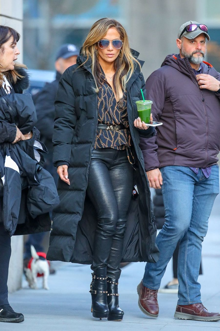 Jennifer Lopez à New York, le 4 avril 2019