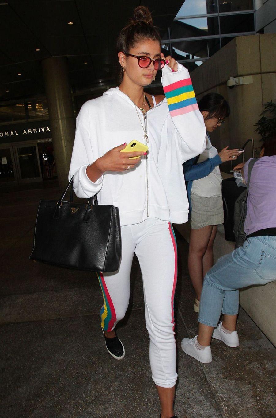 Taylor Hill à l'aéroport de Los Angeles, le 11 juillet 2018