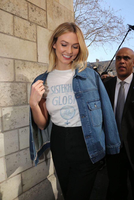 Karlie Kloss à Paris, le 26 février 2019