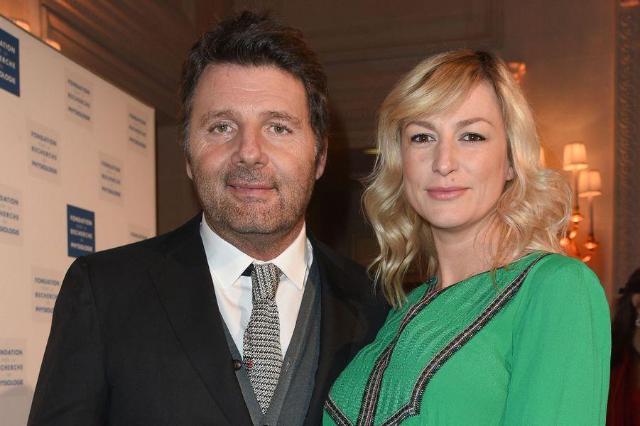 Philippe Lellouche officialise avec sa nouvelle compagne, le 19 mars à Paris.