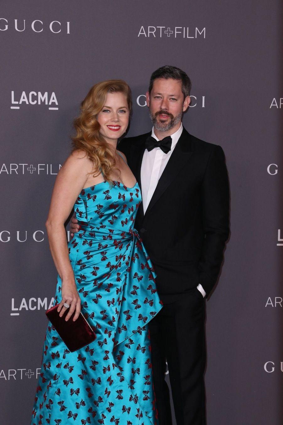 Darren Le Gallo Et Sa Femme Amy Adams À La Soirée LACMA Art Au Musée LACMA À Los Angeles, Le 4 Novembre 2017
