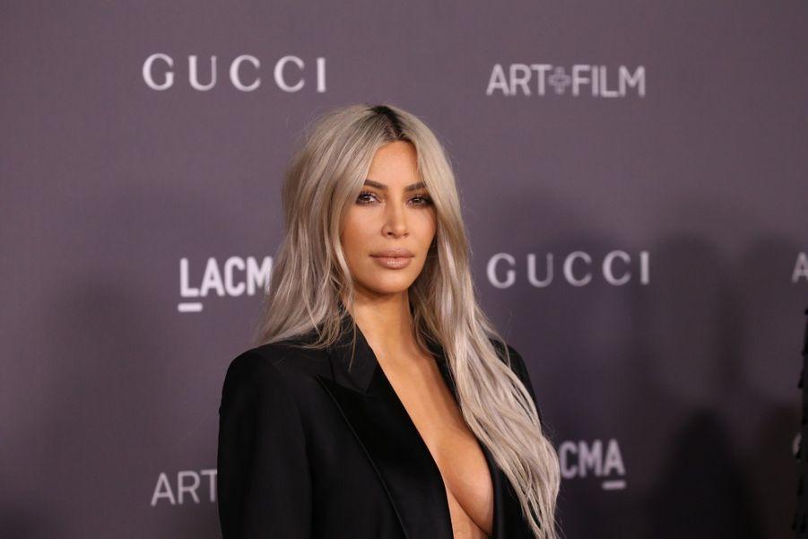 Kim Kardashian À La Soirée LACMA Art Au Musée LACMA À Los Angeles, Le 4 Novembre 2017
