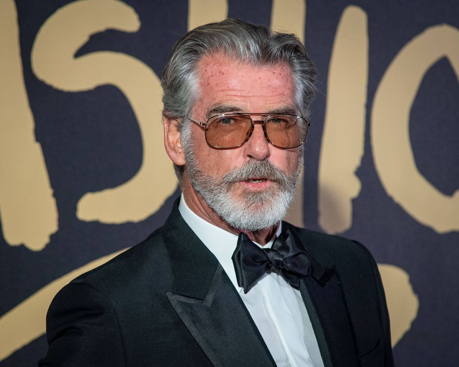 "Pierce Brosnan au défilé ""Fashion For Relief"" à Londres le 14 septembre 2019"