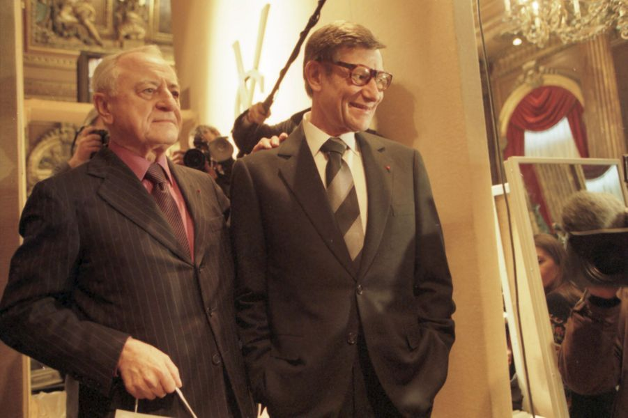 Pierre Bergé et Yves Saint Laurent, l'amour d'une vie.