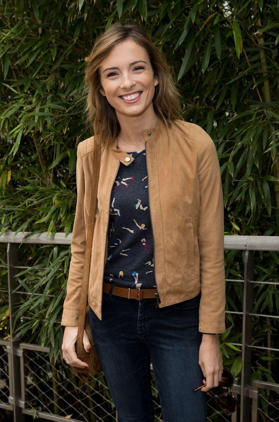 Isabelle Ithurburuà Roland-Garros, le 3 juin 2017.