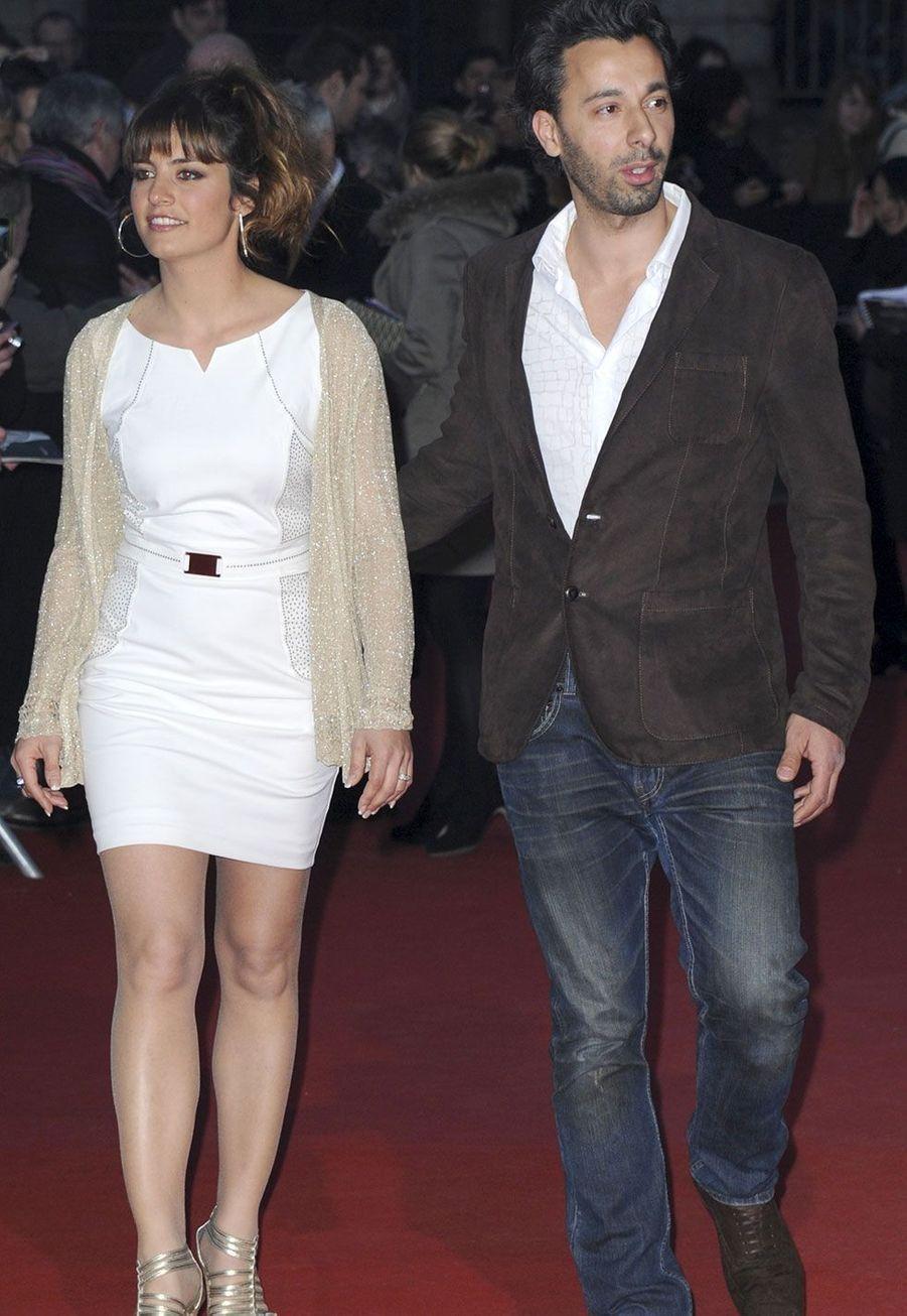 Laëtitia Milot et Badri en 2013