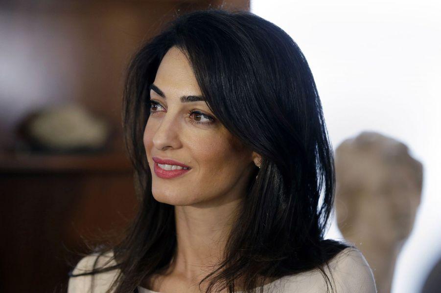 Amal Clooney à Athènes