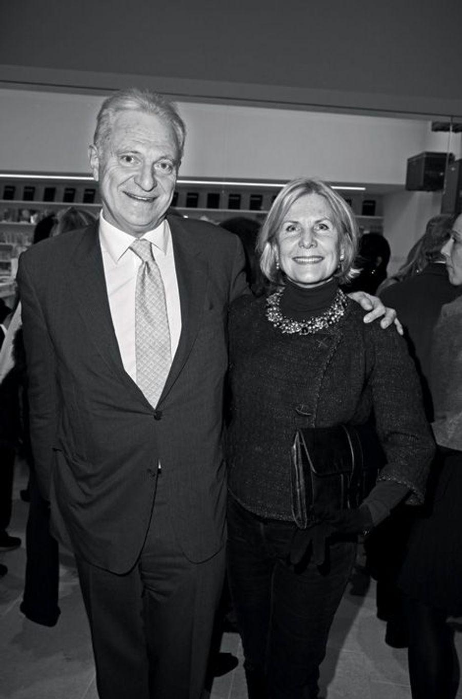 Alain et Suzanna Flammarion.