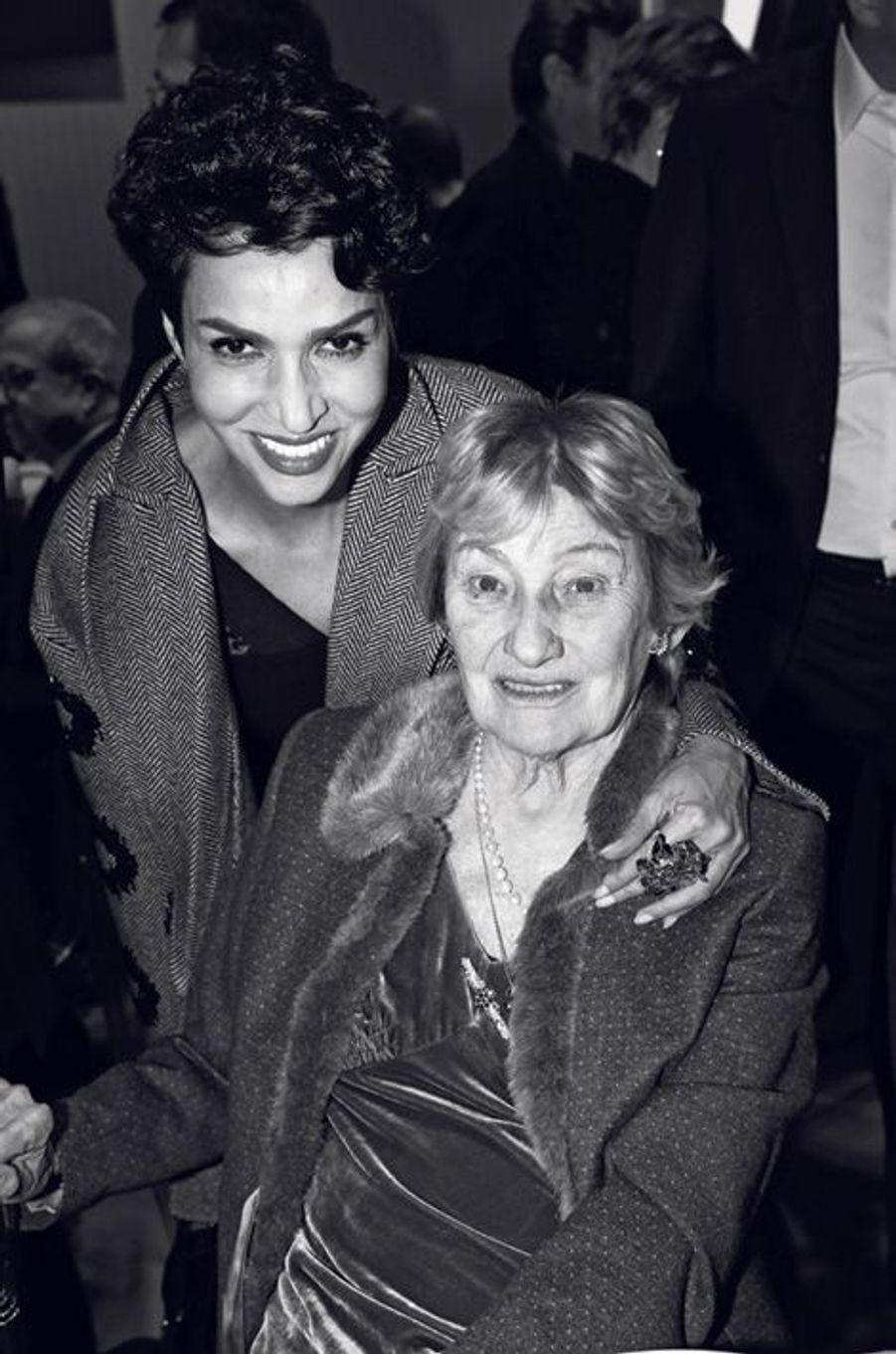 Farida Khelfa- Seydoux, Marisa Bruni Tedeschi.