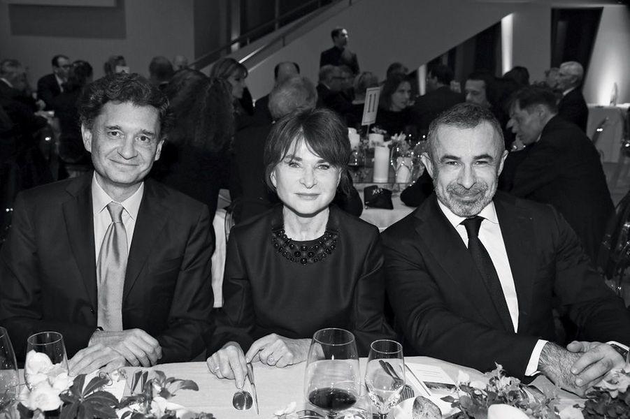 Julien de Beaumarchais, Suzanne Pagé, Alain Seban.