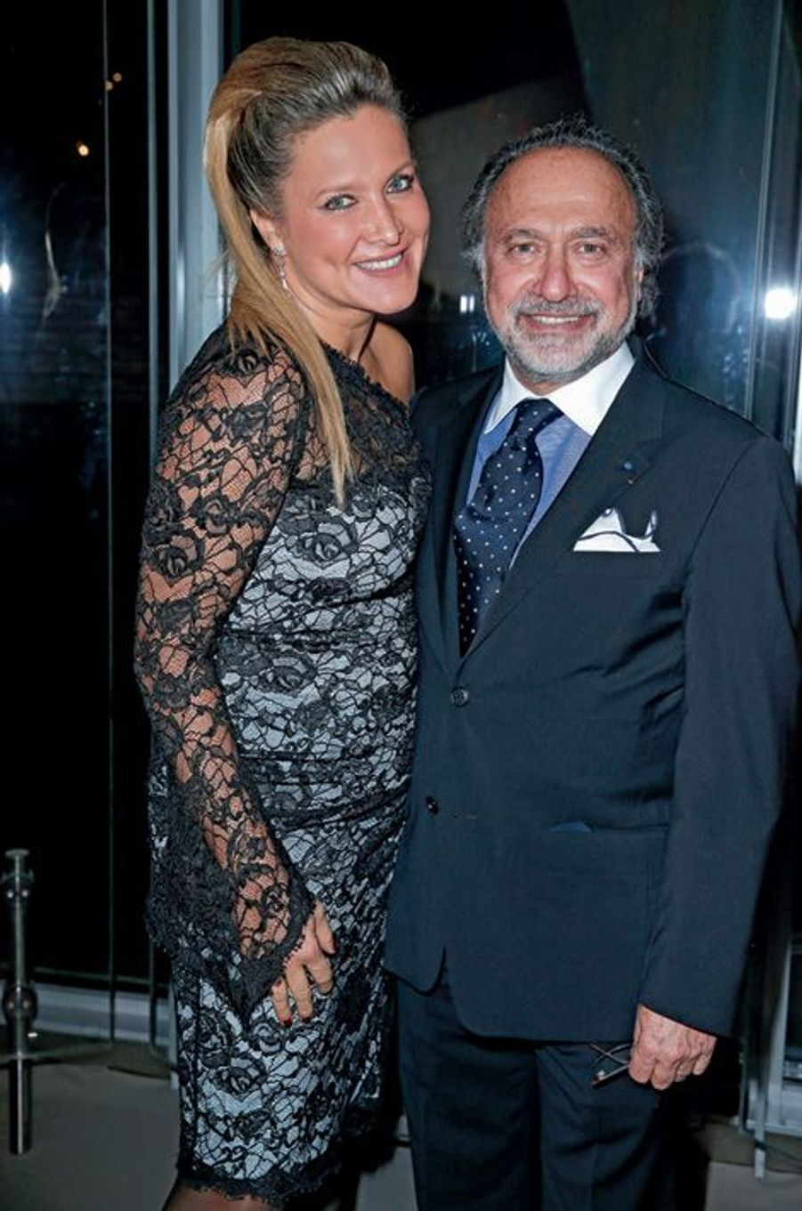 Natacha et Olivier Dassault.