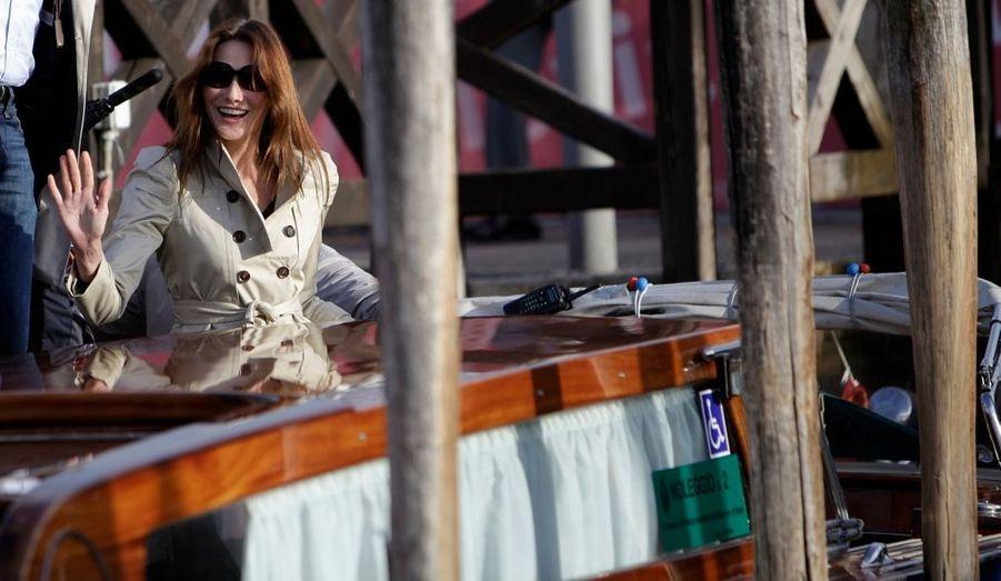Carla à Venise