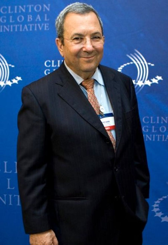 Le ministre de la Défense israélien Ehoud Barak était de la fête lui aussi.