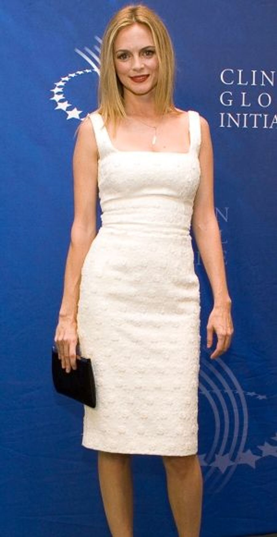 Des personnalités issues du monde de la culture étaient aussi présentes, comme l'actrice Heather Graham (Scrubs, Scream...).
