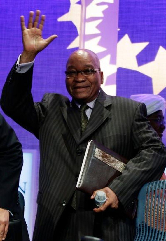 Le président sud-africain a fait le déplacement jusqu'à New York.