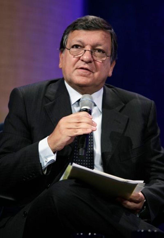 Le président de la Commission Européenne a donné un discours sur le droit des femmes.