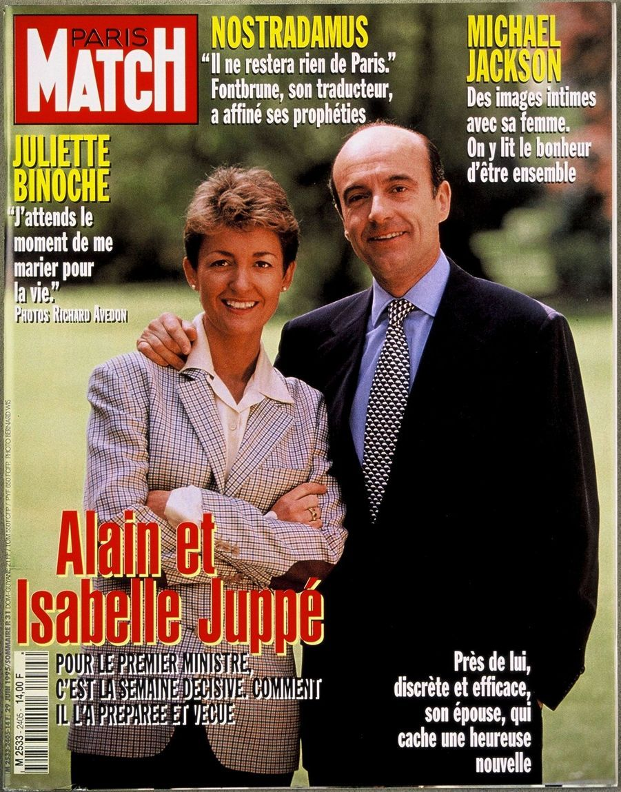 Après la victoire de Jacques Chirac, la couverture de Match