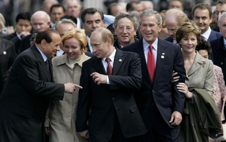 A Moscou en mai 2005