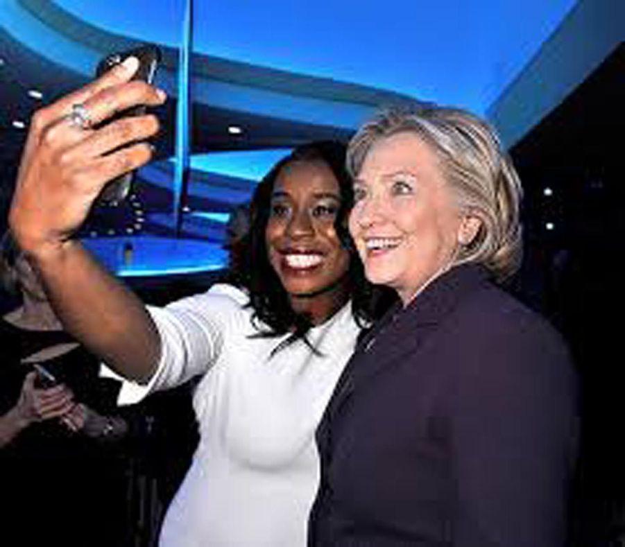 Uzo Aduba et Hillary Clinton