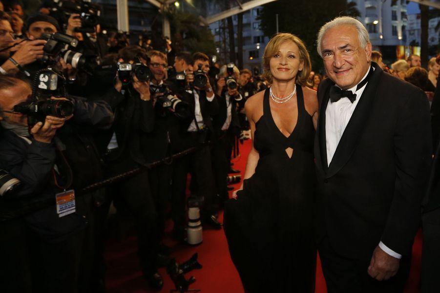 Au Festival de Cannes, le 25 mai 2013. Le couple officialise sa relation