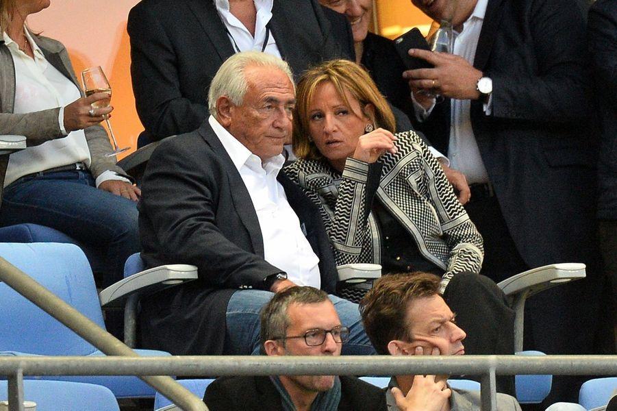 En tête-à-tête pour le match PSG-Auxerre, au Stade de France le 30 mai 2015