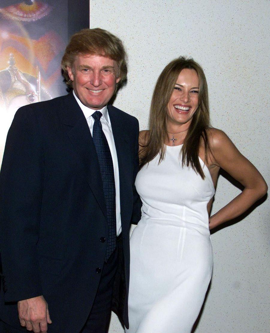 Melania et Donald Trump en 1999