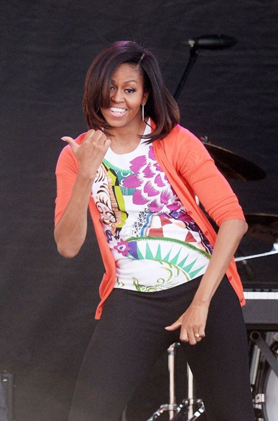 Michelle Obama à Washington le 6 avril 2015