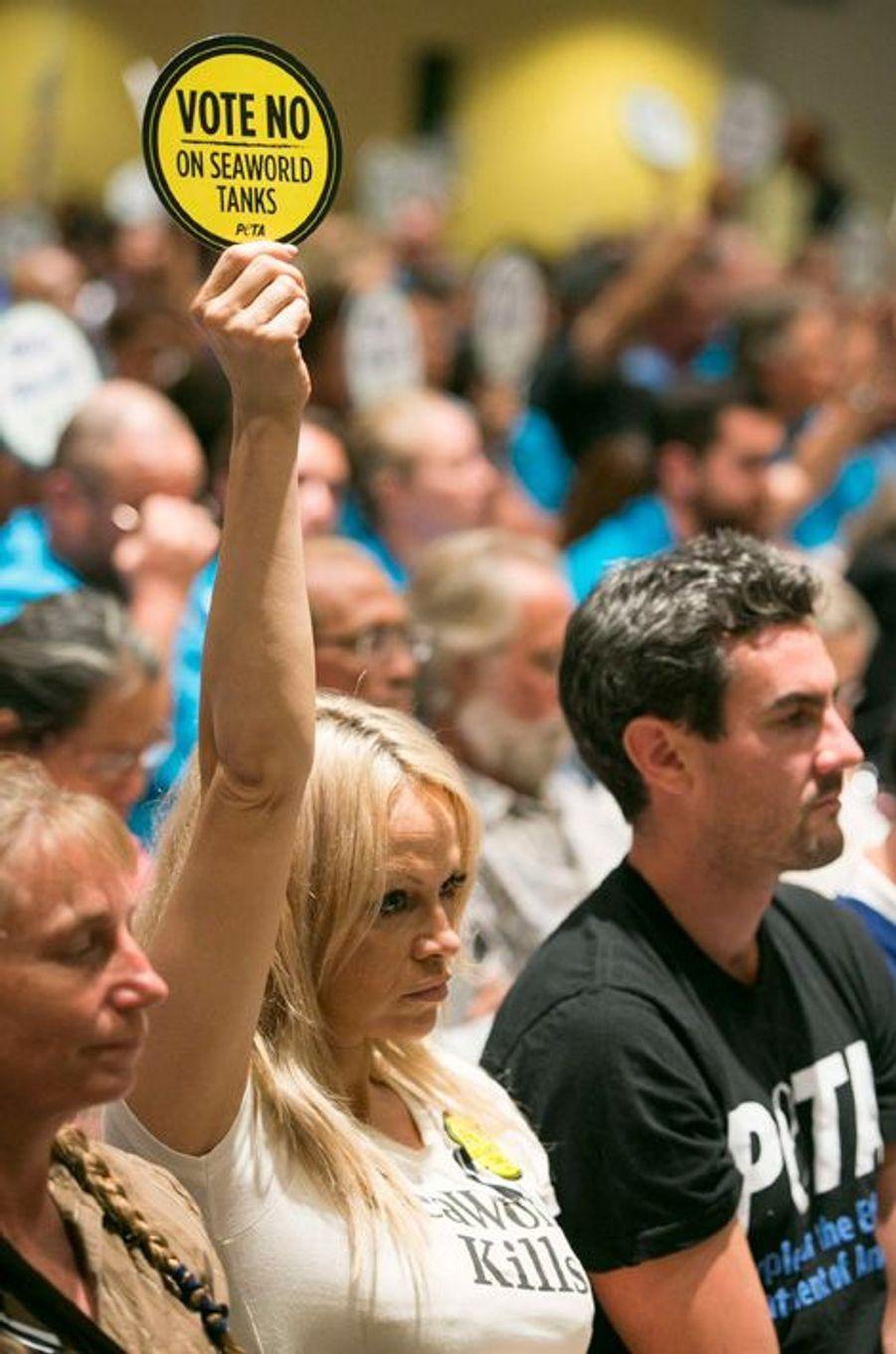 Pamela Anderson, une militante engagée