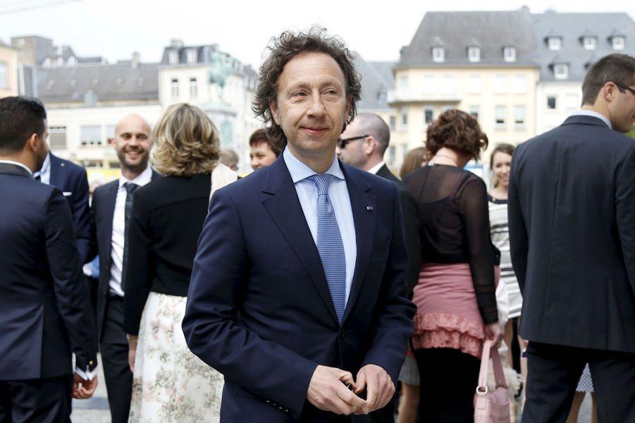 Stéphane Bern, ami du couple