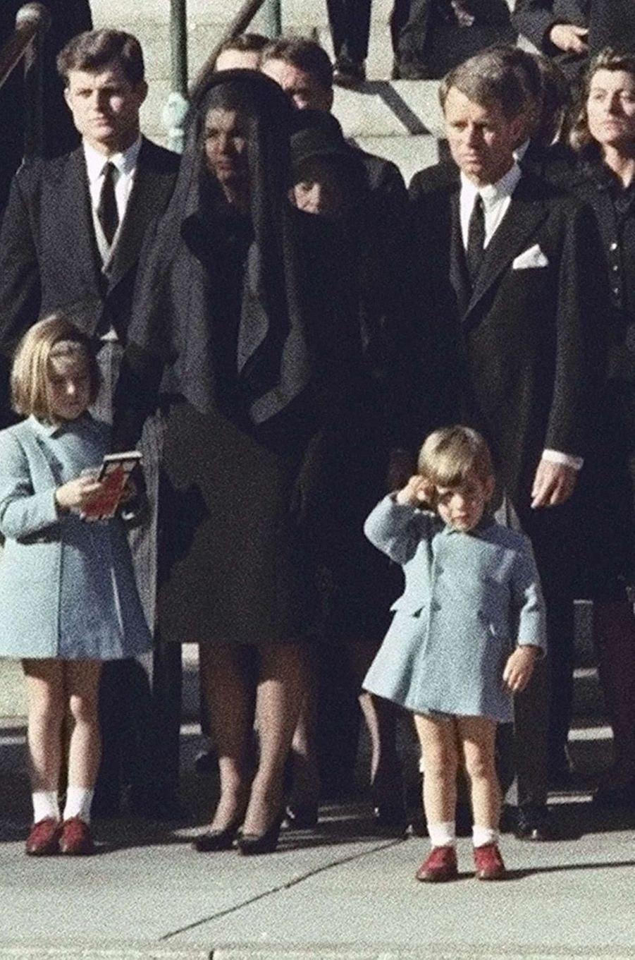Enterrement de John, le 25 novembre 1963