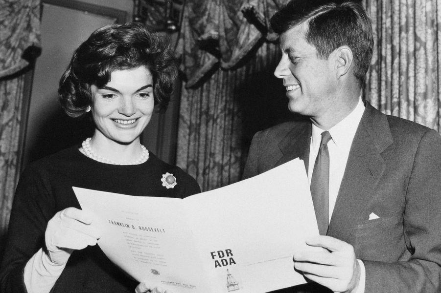 John et Jackie Kennedy en 1959