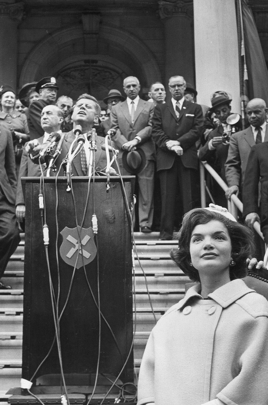 John et Jackie Kennedy, octobre 1960