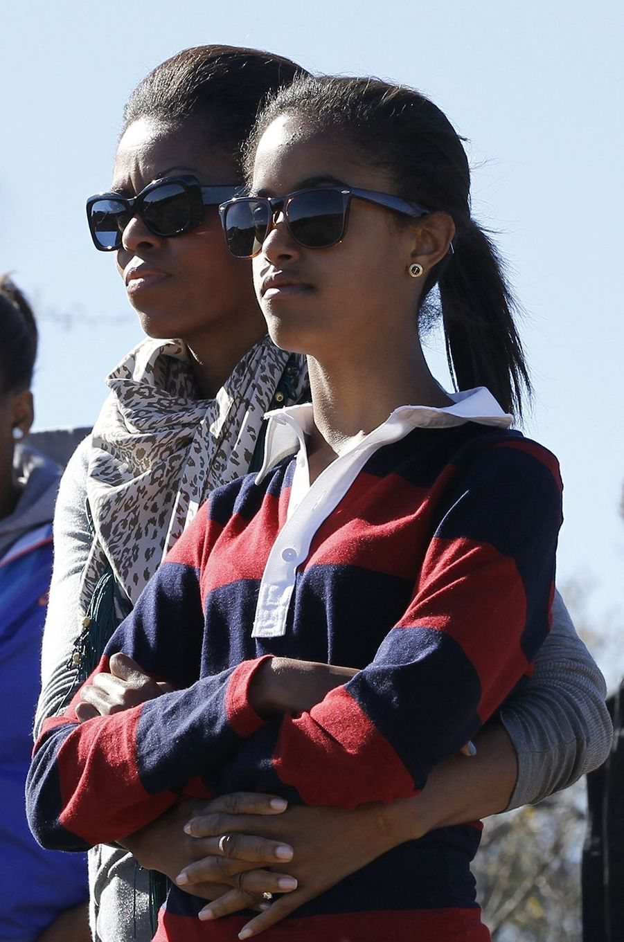 Michelle Obama et sa fille Malia, en juin 2011.